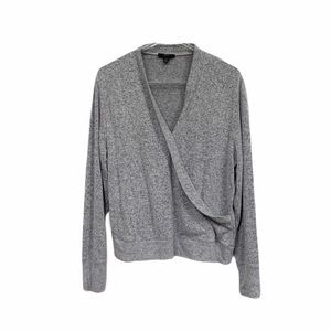 J. Crew Ultra Soft Faux Wrap Front Sweater